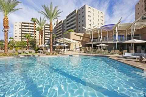 Chicago real estate firm Waterton acquired Vegas Towers, seen here, a 456-unit apartment comple ...