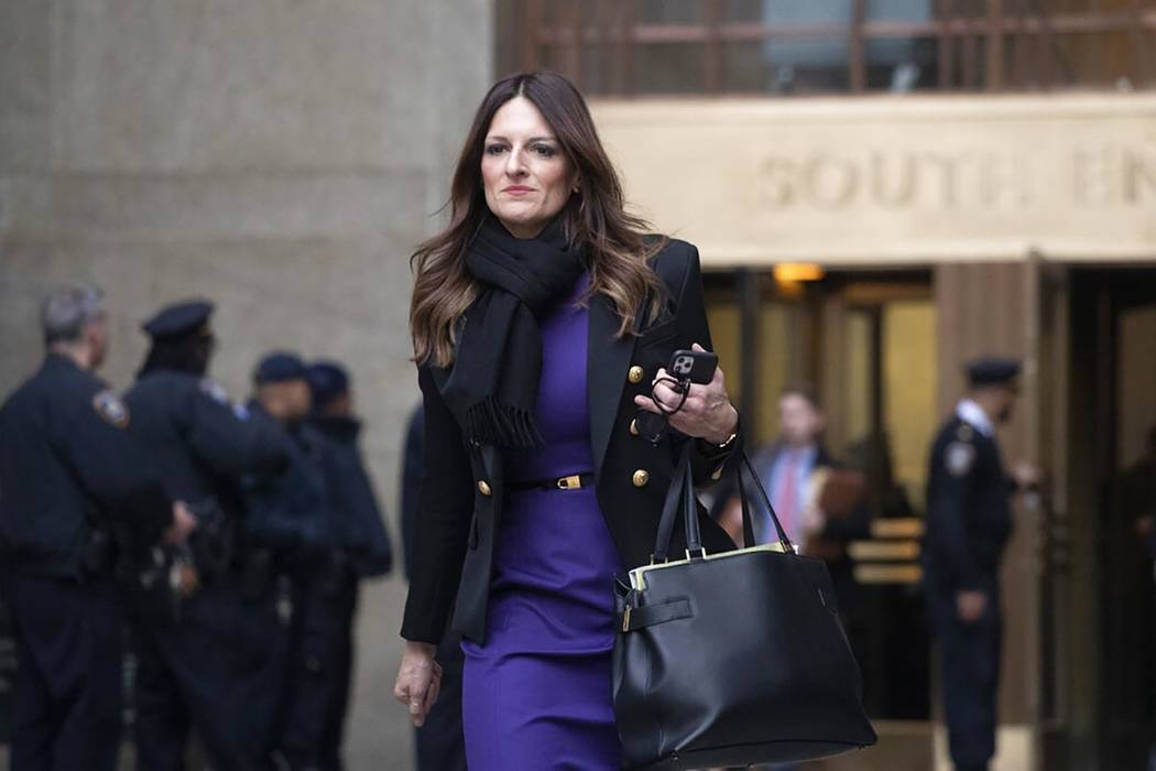 Donna Rotunno, Harvey Weinstein's attorney, leaves the courthouse after a day in his trial on r ...