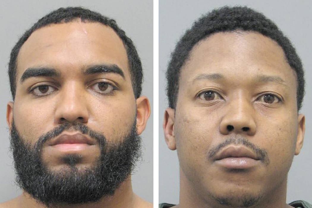 Angell Cordero Fernandez, left, and Michael Jerome Mosley (Henderson Police Department)
