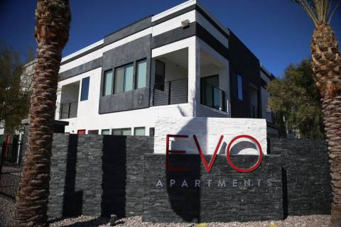 EVO Apartments in Las Vegas, Friday, Jan. 24, 2020. (Erik Verduzco/Las Vegas Review-Journal) @E ...