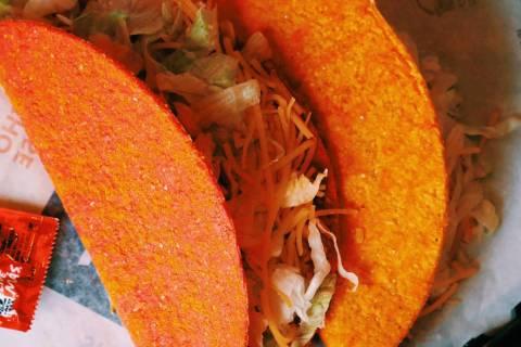 Doritos Locos Taco (Taco Bell via Facebook)