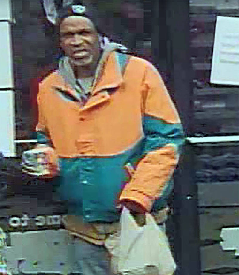 Male suspect in a gas station robbery at 330 N. Rancho Drive (LVMPD)