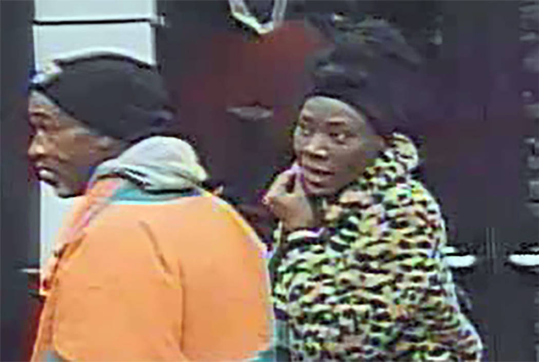 Suspects in a gas station robbery at 330 N. Rancho Drive (LVMPD)