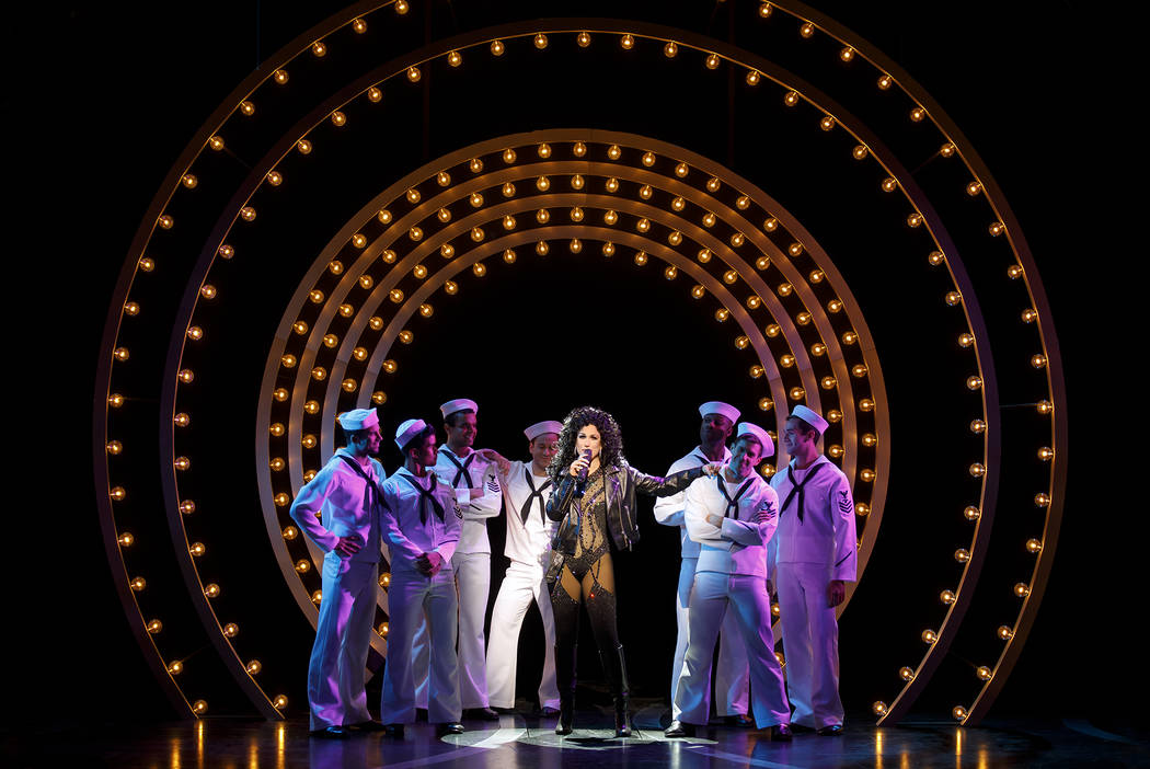 "Stephanie J. Block stars in ""The Cher Show."" (Joan Marcus)"