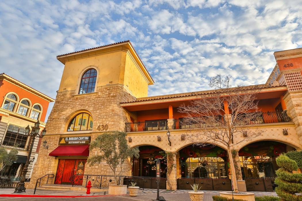 The exterior of El Dorado Cantina in Tivoli Village (Edison Graff/Stardust Fallout Media)