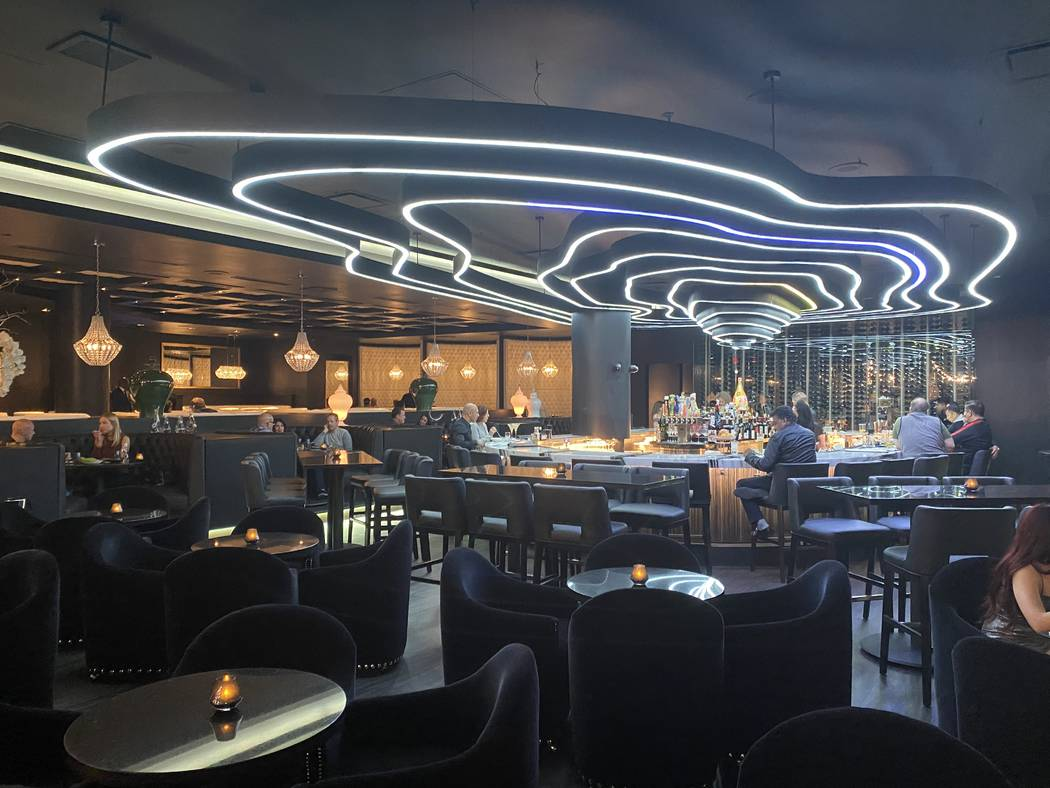 The interior of Jing at Downtown Summerlin. (Al Mancini/Las Vegas Review-Journal)