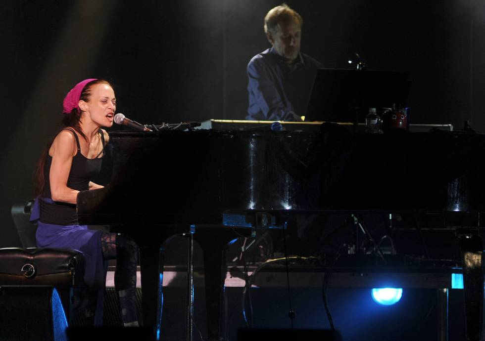 Fiona Apple performs at The Joint in the Hard Rock Hotel and Casino, in Las Vegas, Saturday, Se ...