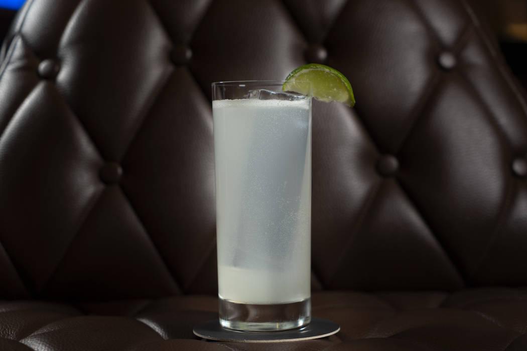 Kansas City Ice Water cocktail. (The Venetian)