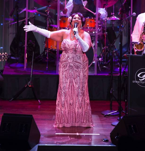 "Las Vegas jazz great Michelle Johnson performs ""A Tribute to Ella Fitzgerald"" with special gues ..."