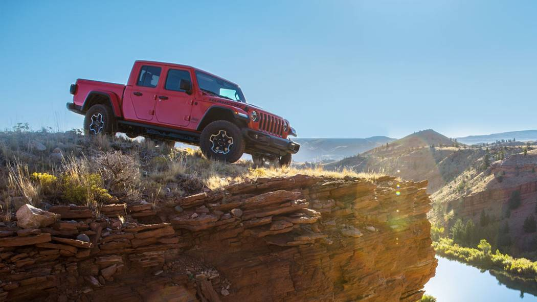 The 2020 Jeep Gladiator was named North American Truck of the Year. (Jeep)