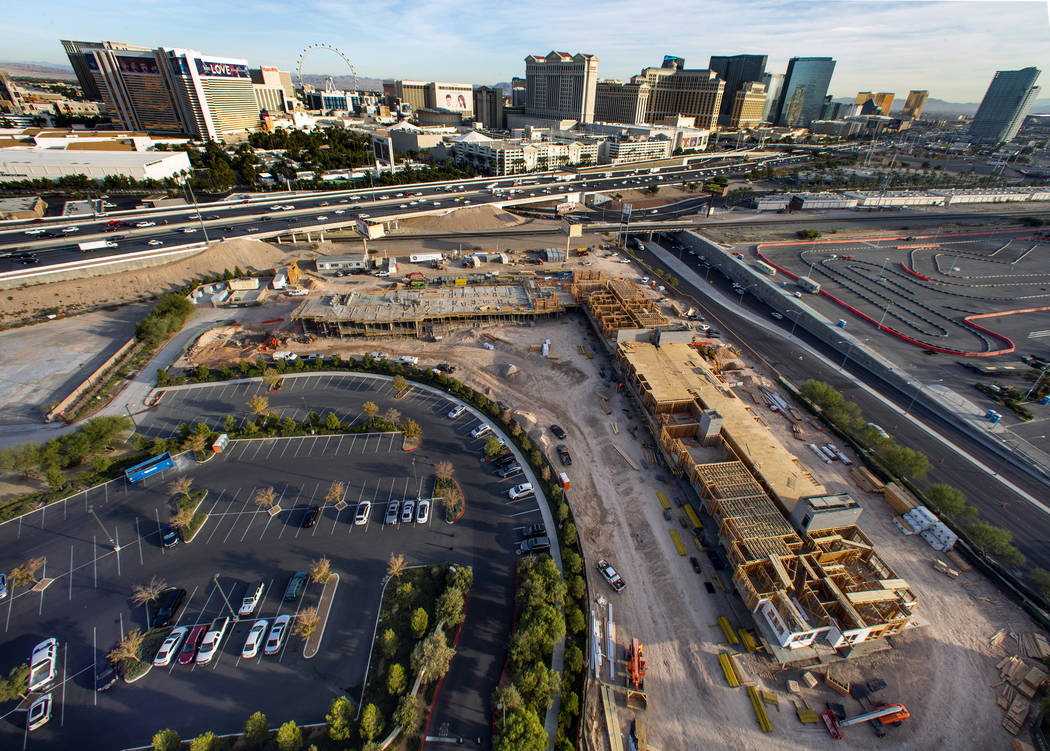 Framing continues on a new 287-unit apartment complex by developer Jonathan Fore currently unde ...