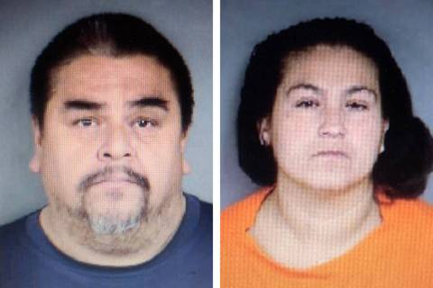 Raul Ramos, left, and Adriana Hernandez (North Las Vegas Police Department)