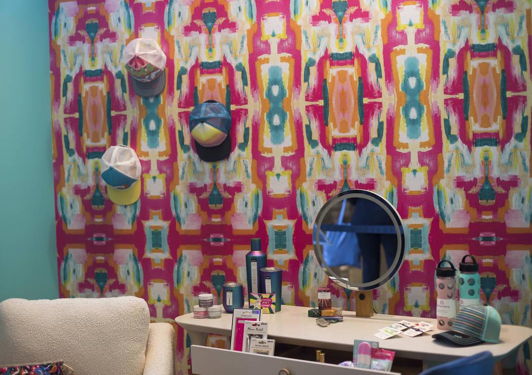 A vanity display for kids and tweens at the Las Vegas Market in Las Vegas, Monday, Jan. 27, 202 ...