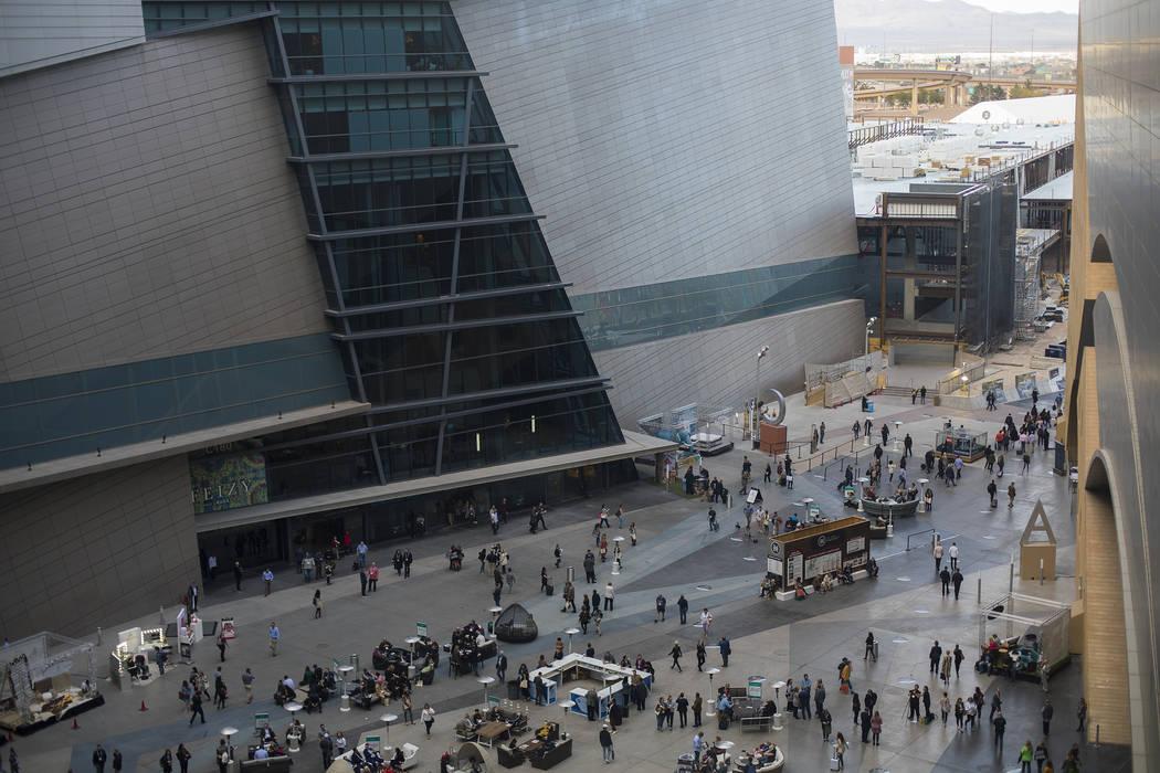 The Las Vegas Market in Las Vegas, Monday, Jan. 27, 2020. (Rachel Aston/Las Vegas Review-Journa ...