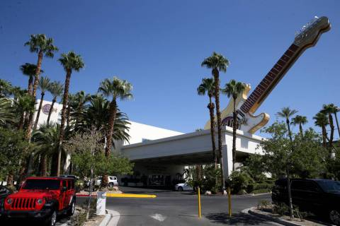 The Hard Rock Hotel in Las Vegas Tuesday, Aug. 27, 2019. (K.M. Cannon/Las Vegas Review-Journal) ...