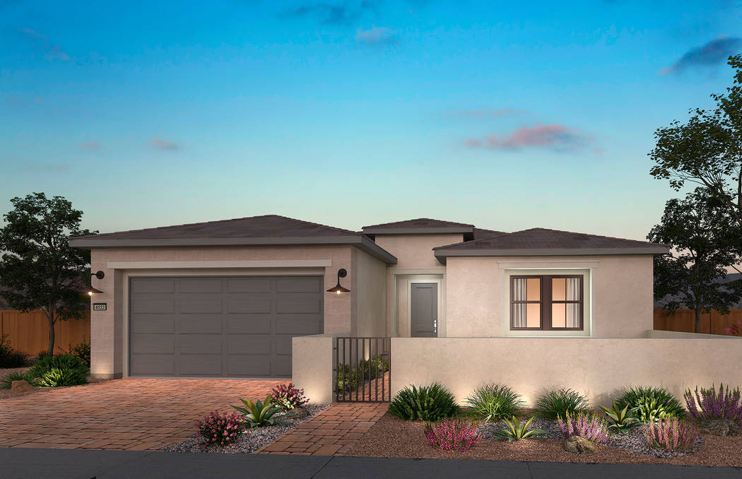 Del Webb Lake Las Vegas will showcase its new homes Feb. 9. (Lake Las Vegas)