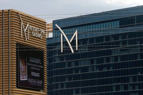 M Resort in Henderson is owned by Penn National Gaming. (Bizuayehu Tesfaye/Las Vegas Review-Jou ...