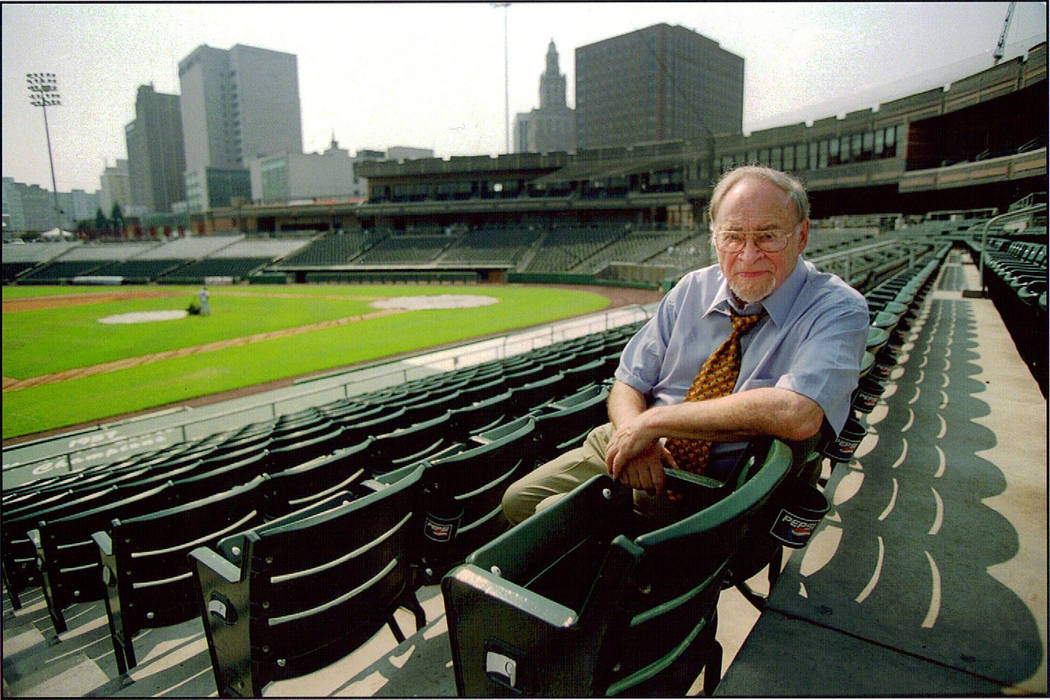 Jerry Izenberg of Henderson, one of only three sports reporters to have covered every Super Bow ...
