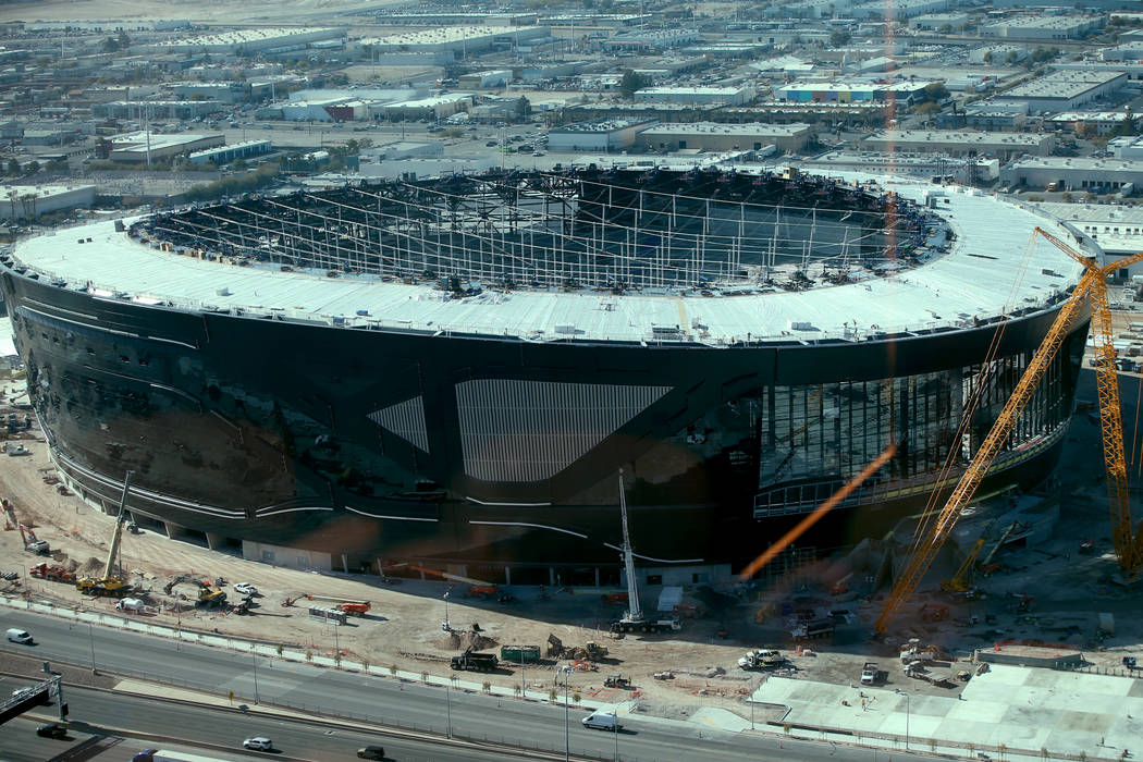 Raiders Allegiant Stadium Makes 25 Year Deal With Nv Energy Las Vegas Review Journal