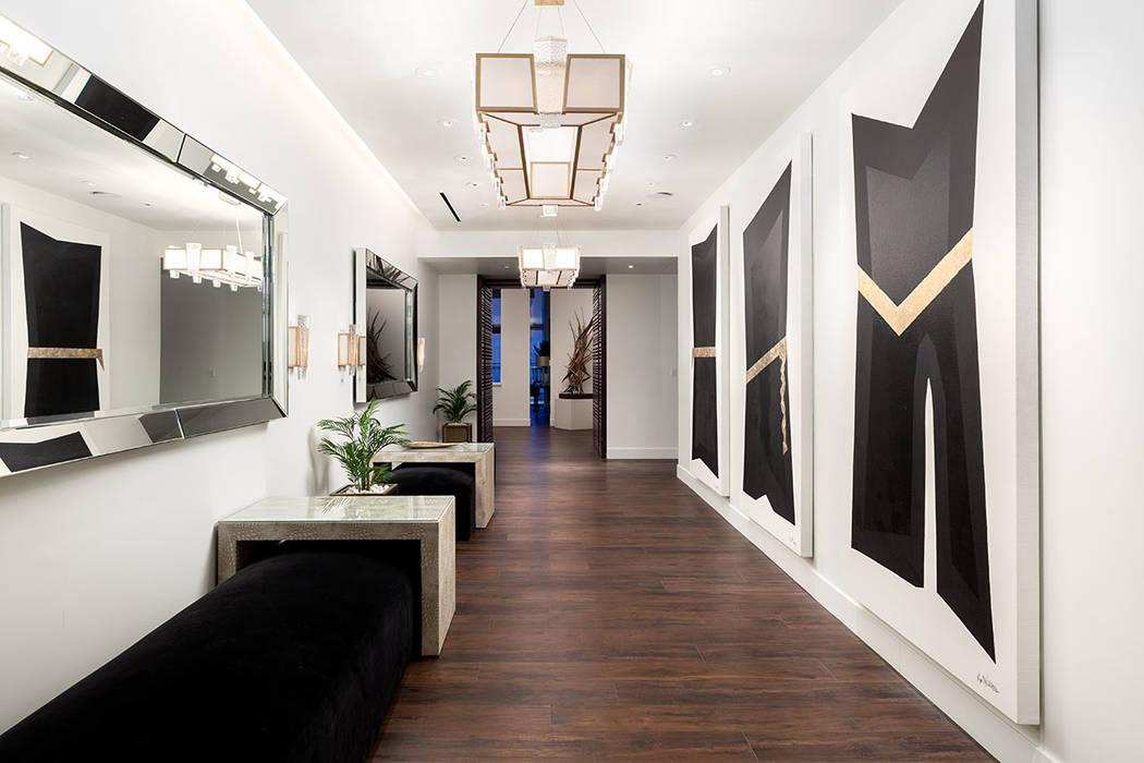 The hallway. (Turnkey Pads)