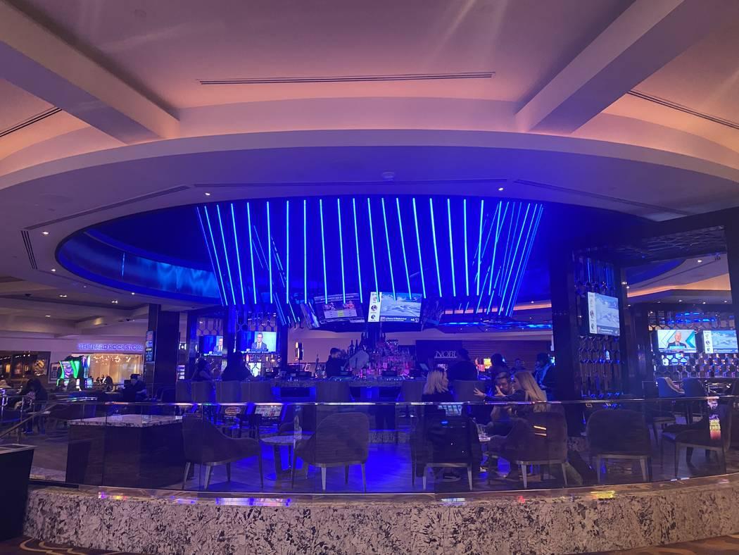The Center Bar is shown on Wednesday, Jan. 29, 2020. (John Katsilometes/Las Vegas Review-Journa ...