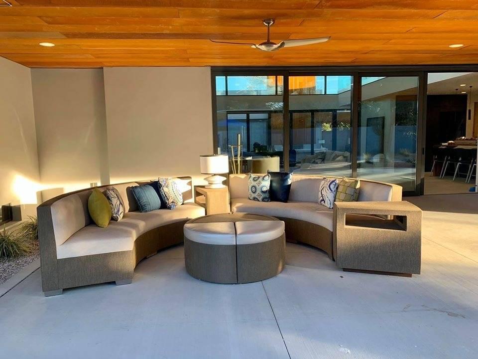 The outdoor patio. (Kimberly Joi McDonald)