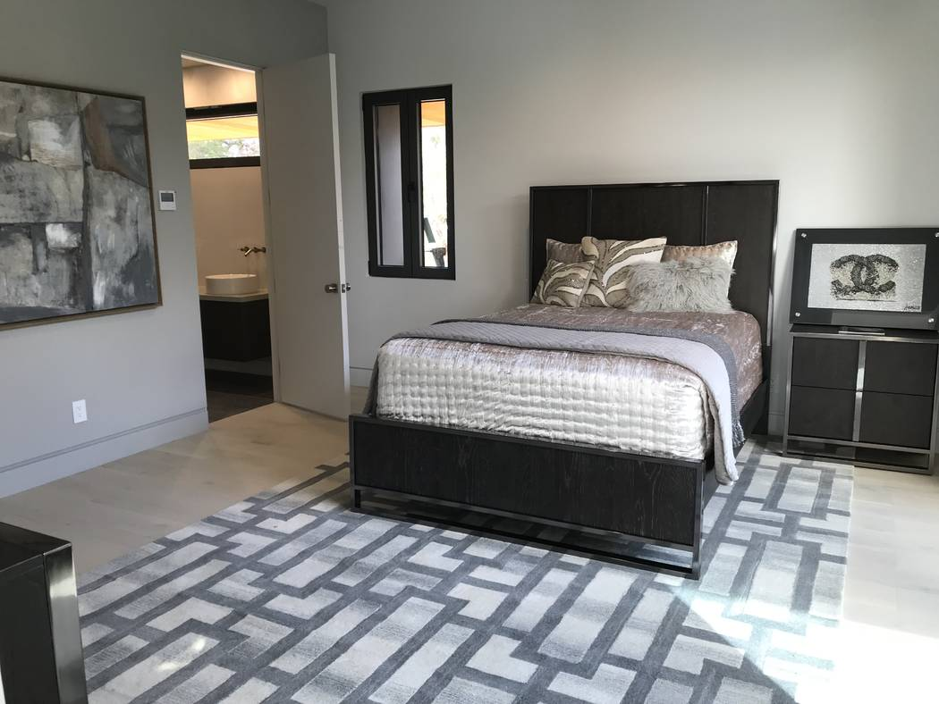 One of the home's bedrooms. (Kimberly Joi McDonald)
