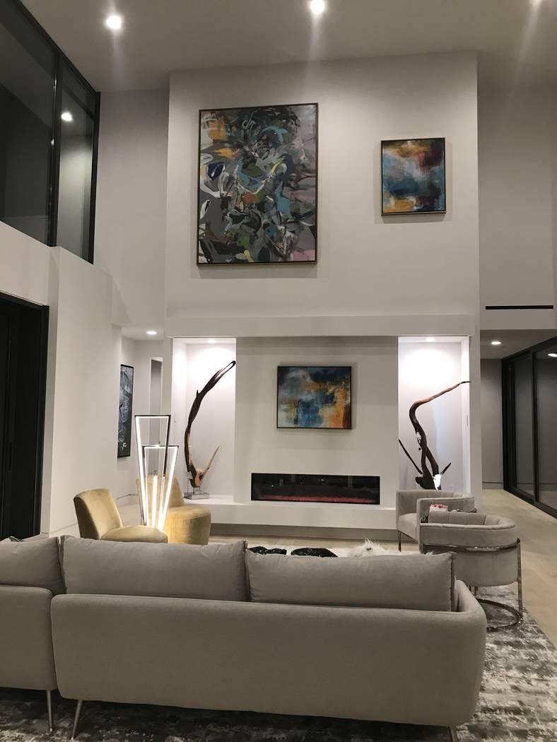 The great room. (Kimberly Joi McDonald)