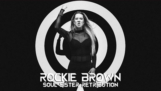 """Rockie Brown is shown in a promotional photo for """"Soul Sister Retribution,"""" a new single and vi ..."""