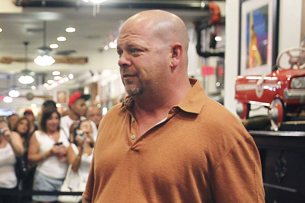 Gold and Silver Pawn owner Rick Harrison in Las Vegas on July 28, 2011. (Las Vegas Review-Journal)