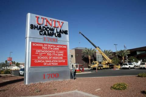 The UNLV Shadow Lane campus in Las Vegas Tuesday, Oct. 29, 2019. The UNLV School of Medicine ha ...