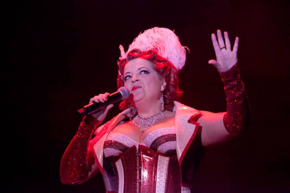 Cora Vette will participate in the Burlesque Hall of Fame's Valen-Tease party Friday at Ron D ...