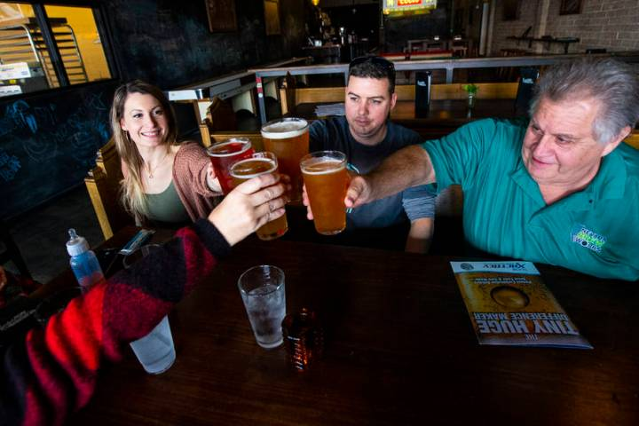 The family of beer lovers plans to launch Nevada Brew Works in April in the Arts District. (Cha ...