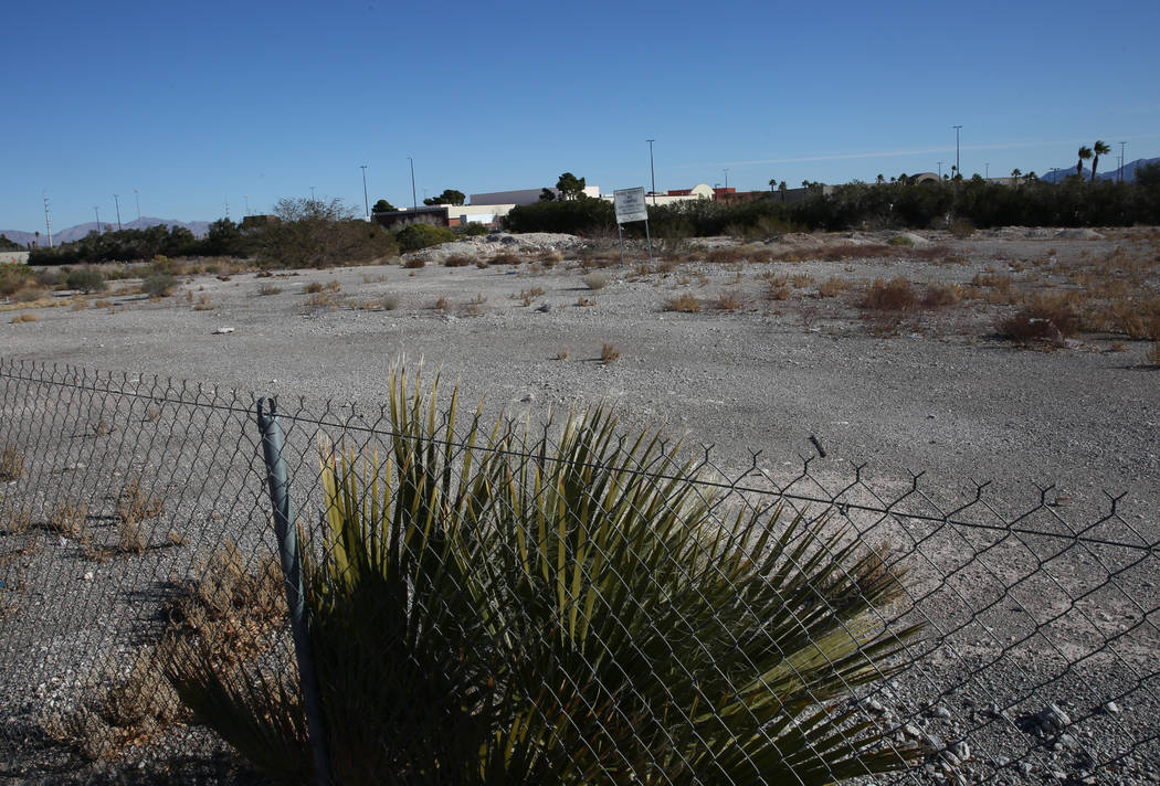 A vacant lot east of 4500 Meadows Lane, next to Meadows Mall, photographed on Friday, Jan. 10, ...