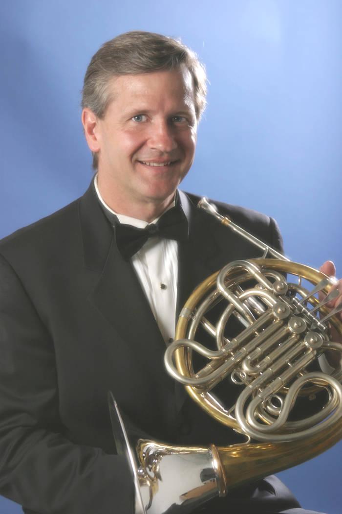Bill Bernatis, Principal French horn for the Las Vegas Philharmonic. (Las Vegas Philharmonic)