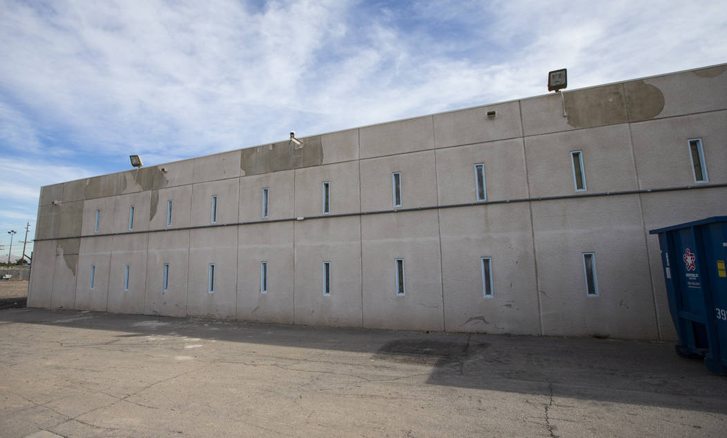 A view of the dorms of the North Las Vegas jail, which was closed in 2012, in North Las Vegas o ...