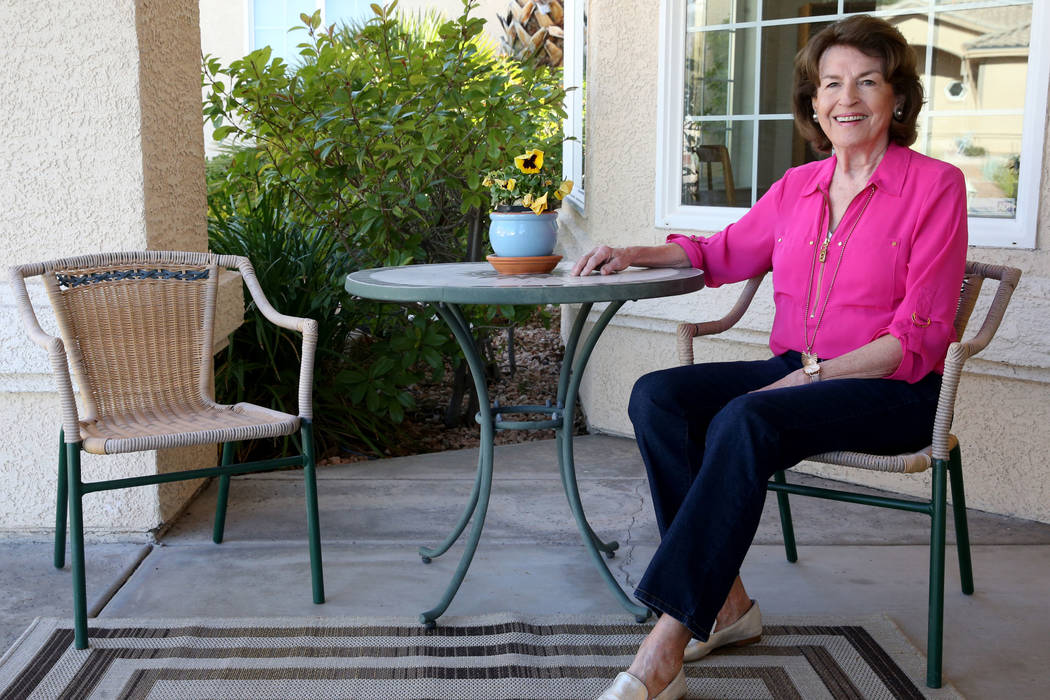 Nonpartisan voter Barbara Gruhl at her Henderson home Friday, Jan. 24, 2020. (K.M. Cannon/Las ...