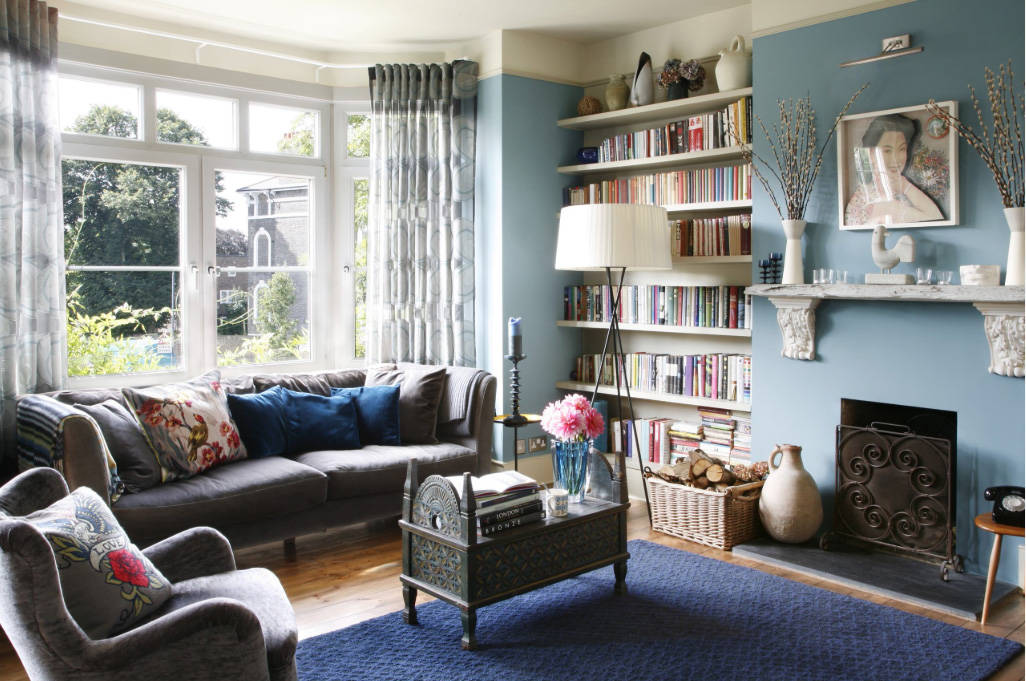 Inherited furniture can fit into a room. (Houzz)