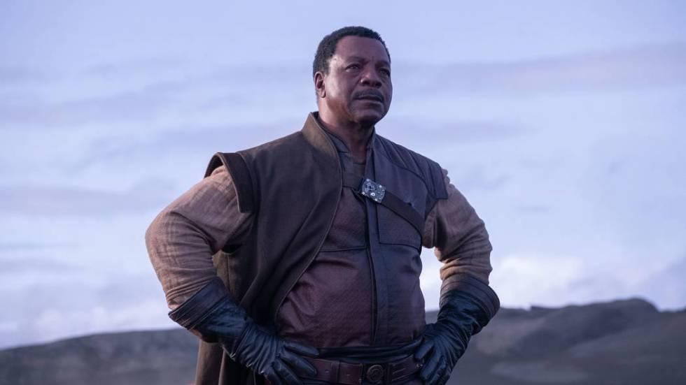"Carl Weathers appears in a scene from ""The Mandalorian."" (Melinda Sue Gordon/Lucasfilm)"