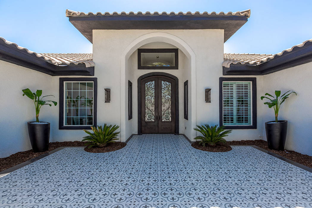 The home was completely renovated. (Red Luxury Real Estate)