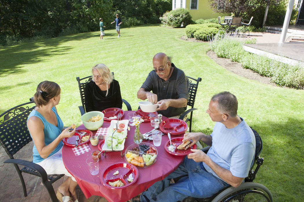 Gett Images Multigenerational homes are becoming more popular as baby boomers get older.
