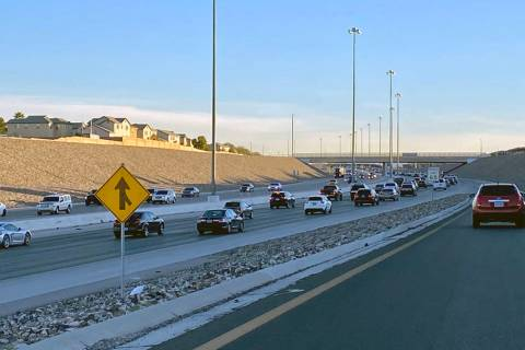 A widening project will add one lane to each side of the 215 Beltway between Windmill and Pecos ...