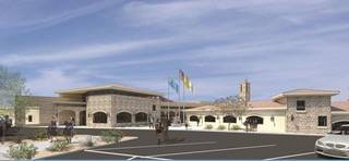 An artistic rendering shows what the new St. Anthony of Padua Roman Catholic School in Henderso ...