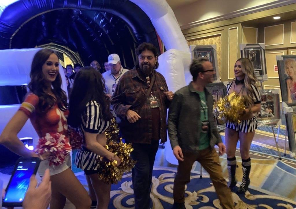 Rock star Alan Parsons is shown at Westgate Las Vegas before Super Bowl LIV on Sunday, Feb. 2, ...