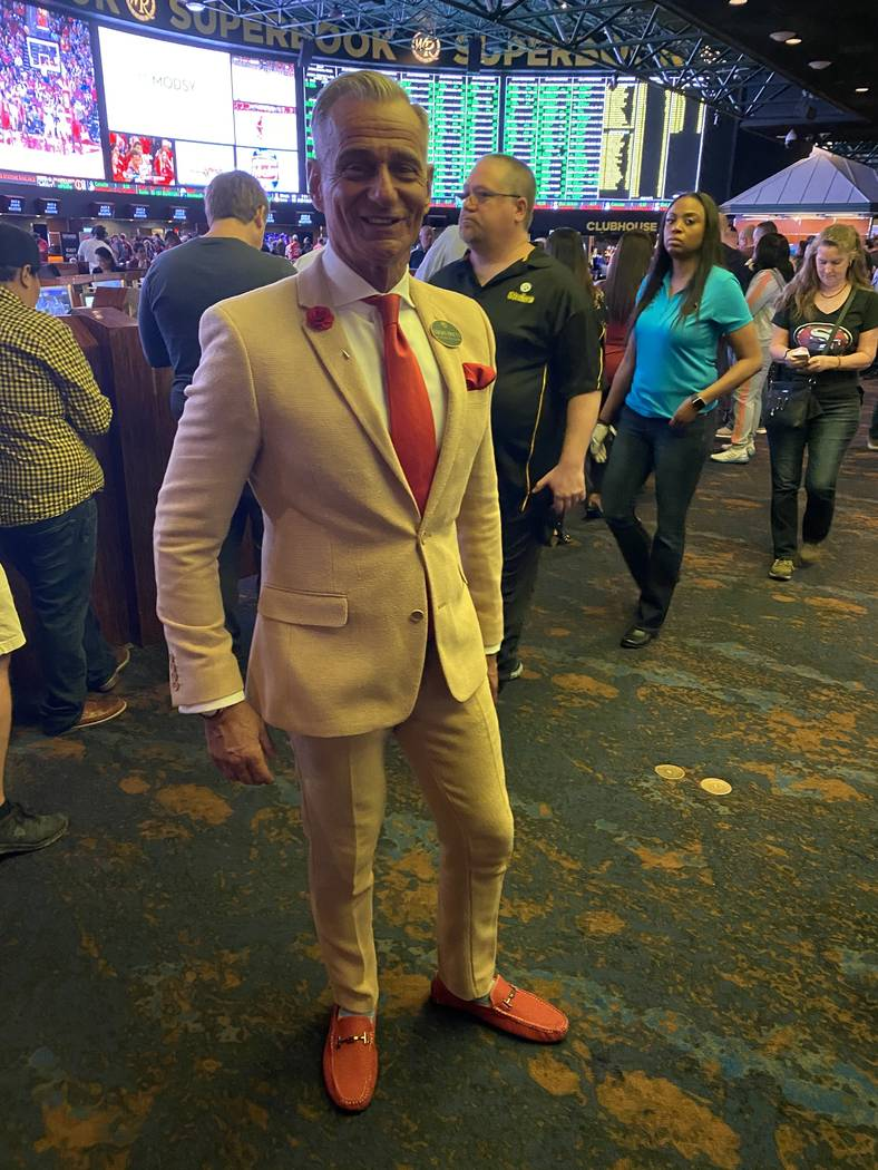 Westgate Las Vegas Vice President of Public Relations and Community Affairs Gordon Prouty (John ...
