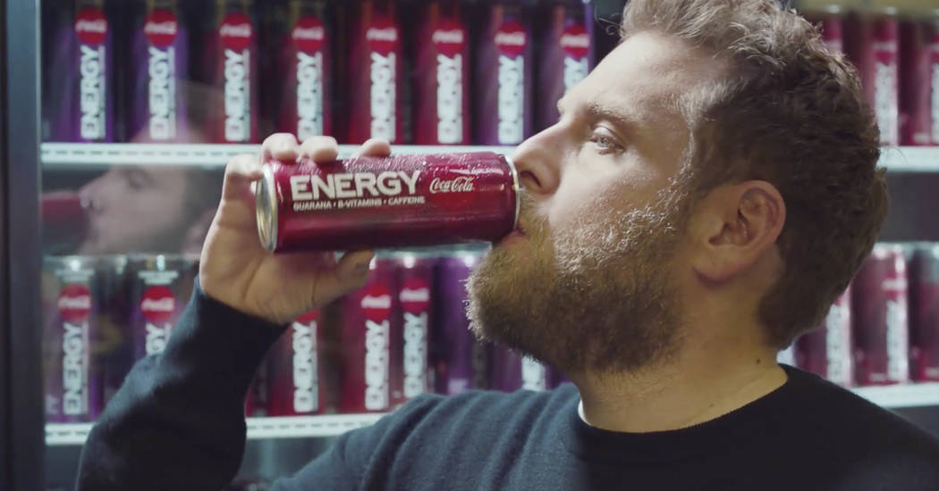 This undated image provided by Coca-Cola shows Jonah Hill in a scene from the company's 2020 Su ...