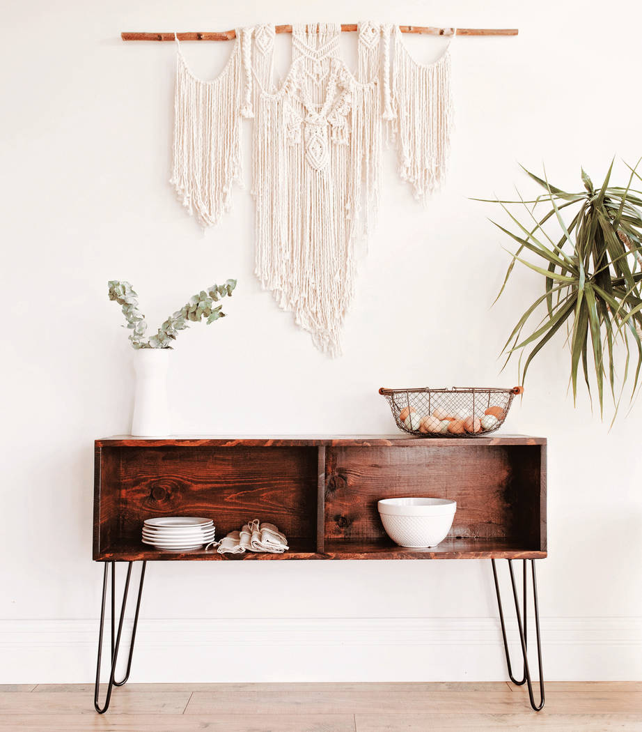 J.P. Strate and Liz Spillman designed this sideboard to be simple and modern with separate stor ...
