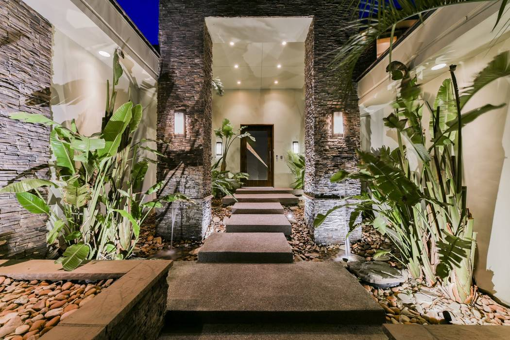 The entrance to the home. (Ivan Sher Group)