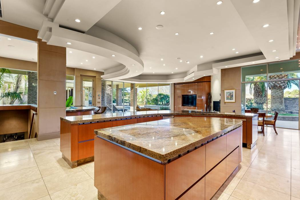The kitchen is adjacent to the living area. (Ivan Sher Group)