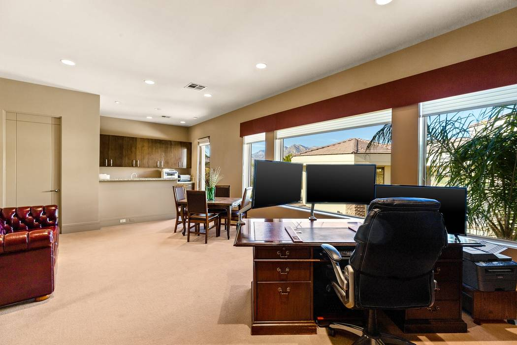 One of two offices in the home. (Ivan Sher Group)